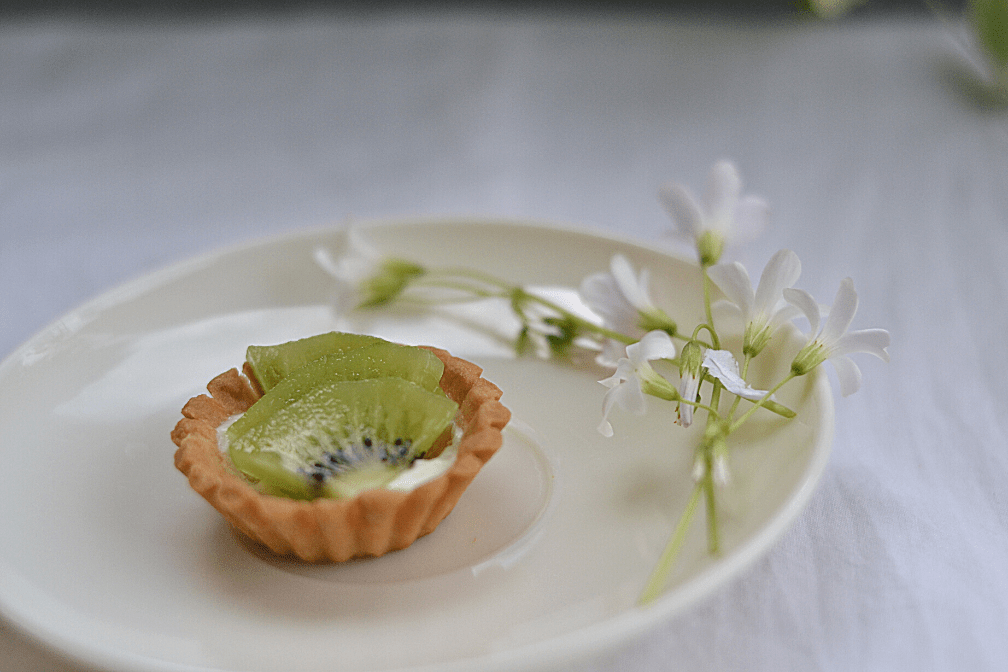 Mini Yogurt Kiwi Fruit Tart